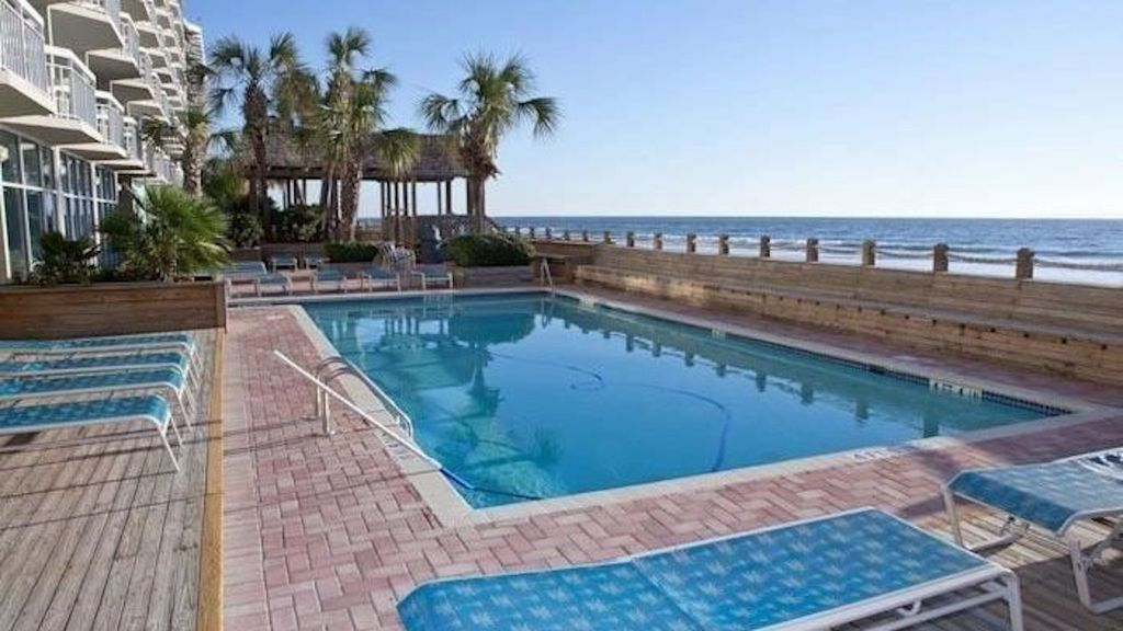 Condo In Surfside Beach Oceanfront Garden City Beach