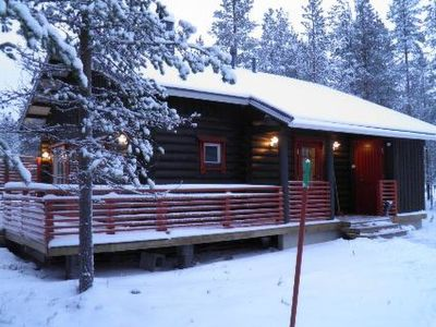 Photo for Vacation home Kaarnikkatupa a in Äkäslompolo - 6 persons, 2 bedrooms