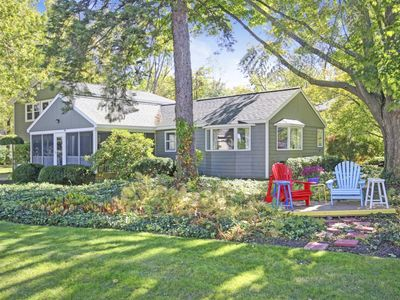 Photo for Large family home with open concept living/kitchen/dining just a short walk to downtown Saugatuck!