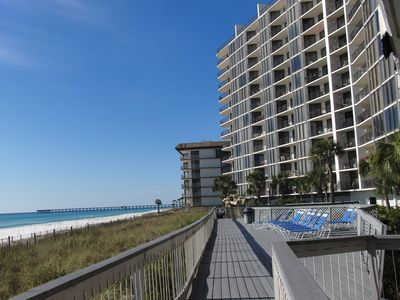 Photo for BEAUTIFUL OCEAN FRONT VIEW CONDO - 3BR/3BA wrap balcony access from LR/DR/2 BR