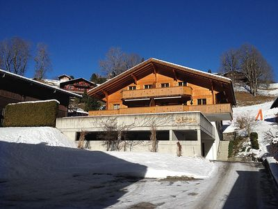 Photo for Apartment in the center of Grindelwald with Parking, Internet, Washing machine, Garden (124771)