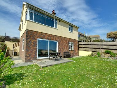 Photo for Apartment with panoramic views across the sea down to Grassholk and the Skomer islands