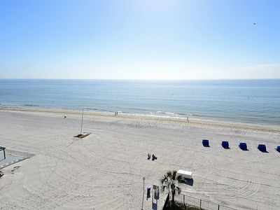 Photo for Emerald Isle #601-TOP FLOOR with stunning beach view/Bright South Corner!!