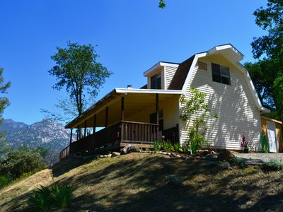 Photo for The 'Nest' is a Farm Style 3 Br-2 bath home only 3.4 miles to the Sequoia Park!