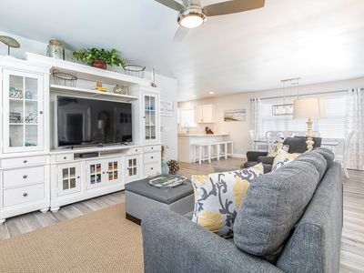 Photo for Newly Remodeled, Perfect for Families, 1.5 Blocks To Beach, Pet Friendly with Fenced Yard