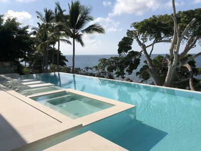 Photo for Villa Bahia Azul - an Oceanfront Villa with amazing views from every room!