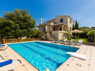 Photo for Stone Made villa in picturesque village! Private pool & full privacy!