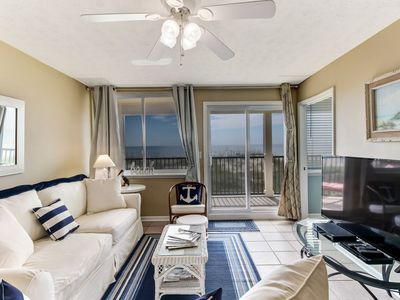 Photo for Peaceful Scenic Clean 2 Bedroom/1 Bath Oceanfront Condo that sleeps 6 .  Close to parks.