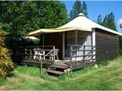 Photo for Camping de l'Orival *** - Chalet 3 Rooms 5 Persons