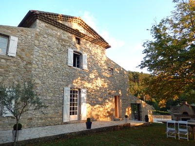 Photo for Rent house of character with swimming pool, Drôme Provencale 12 sleeps