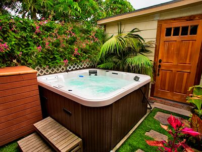 Photo for 25% OFF OCT - Tropical Paradise, Steps to Beach w/ Private Yard & Spa