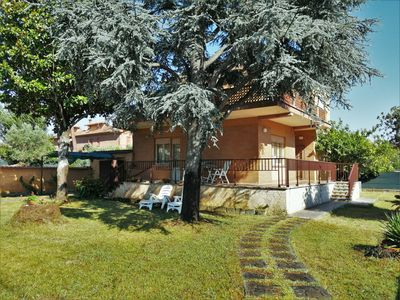 Photo for Single villa with large garden in a residential area.