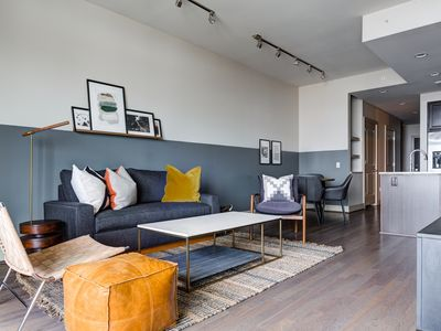 Photo for Domio | Downtown | Modern 2BR | Indoor Basketball Court