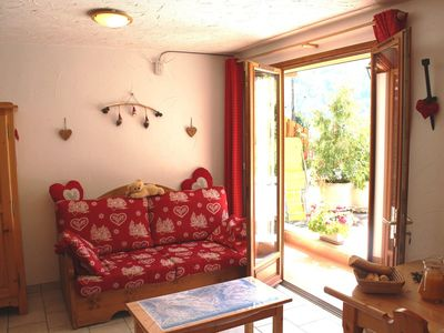 Photo for 3 rooms cabin 6 people 3* exposed South-West
