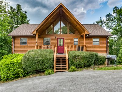 Photo for ** Perfect Location!! Next to Dollywood!! New Hot Tub and Awesome Game Room!!