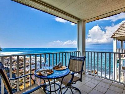 Photo for Oceanfront | Amazing View | Top Floor, AC, King Bed, Remodeled Condo | Starting at $148