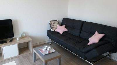 Photo for 2BR Apartment Vacation Rental in Anglet, Nouvelle-Aquitaine
