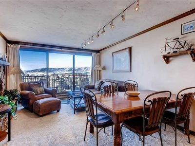 Photo for Cozy Mountain Condo with Gas Fireplace & Great Mountain Views!