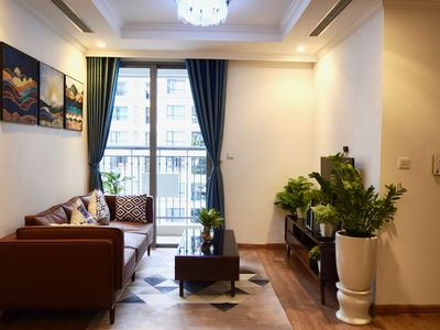 Photo for CDCAS  cozy modern 2 bedroom service apartment PARKHILL Vinhomes Times City