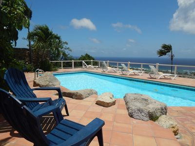 Photo for Amazing views with 3bdrms 3 baths, AC, pool, open air design