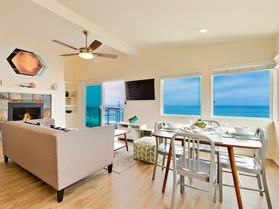 20% OFF OCT - Oceanfront Beauty, Steps to the Sand, Ocean + Sunset Views