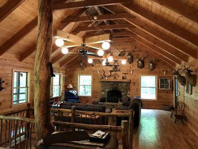 Photo for Serenity Lodge in Hocking Hills on 101 acres