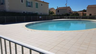 Photo for NARBONNE-PLAGE : Beautiful 2 bedroom flat with pool