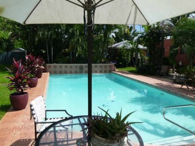 Photo for Villa Espagna Fort Lauderdale Beach: Private House (Private POOL and Garden)!!