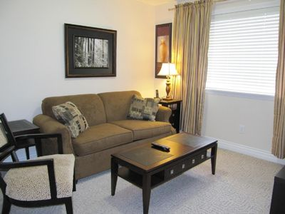 Photo for Luxurious 2 Bedroom Plus Den Furnished Suite Sleeps 6