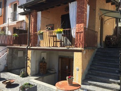 Photo for 1BR Apartment Vacation Rental in Melide, Ticino