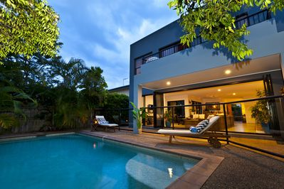 Relax by your own private swimming pool