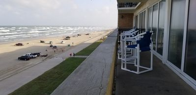 Photo for A True Beach Front With Spectacular Panoramic 5th floor Ocean Views 210-392-1151