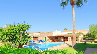 Photo for Finca Carolina - Large Countryside Villa with a Self Contained Apartment, Private Pool and 15 mins to Fantastic Beaches! - Free WiFi