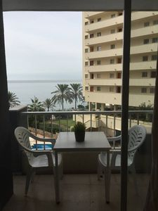 Photo for Neptuno 204 beachfront central with views and WIFI