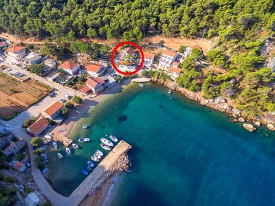 Photo for Apartment in Vela Stiniva (Hvar), capacity 2+2
