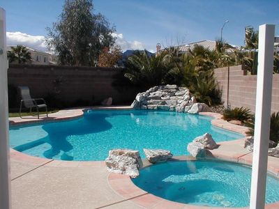 Photo for Family Friendly - Private Pool - 20 minutes from LV Strip