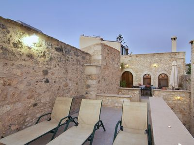Photo for Historic stone Castle with beautiful sea views (with special autumn offers)