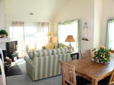 Photo for LOOK Luxury Pirates Cove OBX Penthouse 3/2 Home near Beach & Free 25' Boatslip