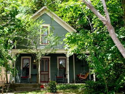 Photo for Luxury Spa-like Cottage On Spring Street in the Heart of Downtown Eureka Springs