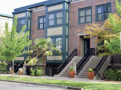 Photo for Orenco Suites (2 large bedrooms, patio, gourmet kitchen, in Orenco station)