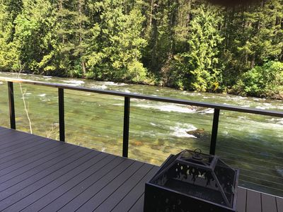River view from the deck