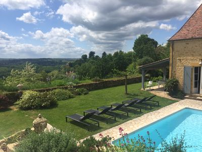 Unique High Standard Property With Heated Pool Set On The Remparts Of  Domme. Domme, France