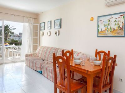 Photo for Apartment 1.2 km from the center of Calonge with Parking, Washing machine, Pool, Balcony (142593)