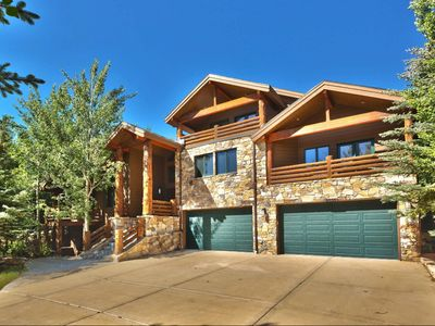 Photo for NEW LISTING! Luxury Home - 7,800 Sq. Feet - Lower Deer Valley! Private Hot Tub