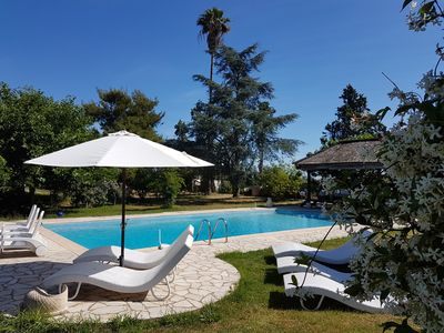 Photo for gte de France 3 ears, 3 *, beachfront with pool, meadow and animals, wifi