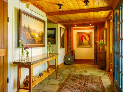 Photo for Jackson Hole: Private Retreat On Historic Ranch, Fish Creek Access, 7 Acres