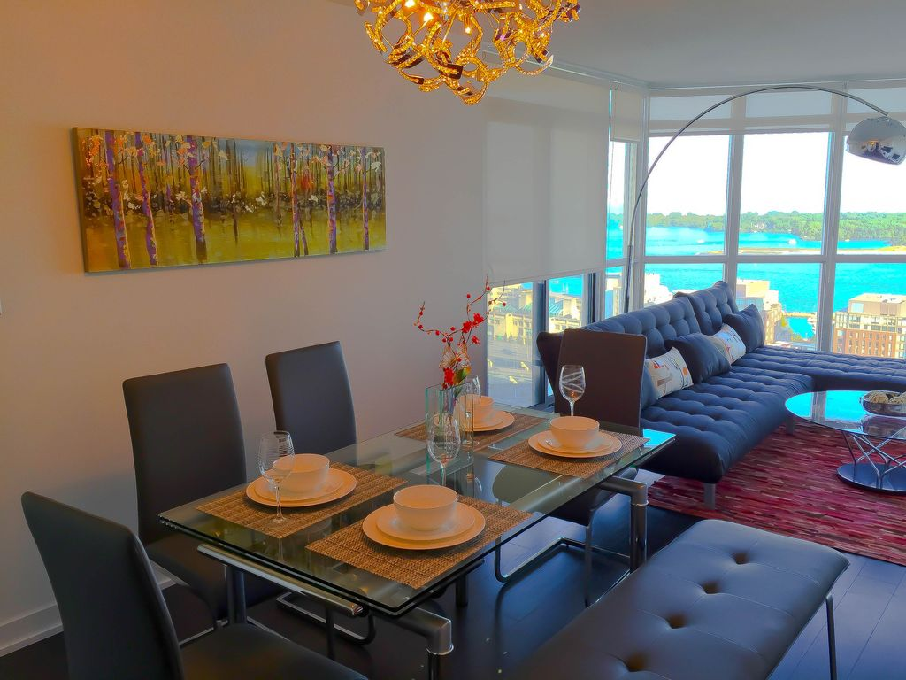 28thFlr Stunning LakeView Downtown/New Luxury Furnished 2BR2BA/Free Wifi&Parking