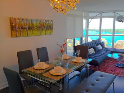 Photo for 28thFlr Stunning LakeView Downtown/New Luxury Furnished 2BR2BA/Free Wifi&Parking