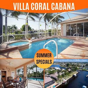 Photo for 30% OFF! SWFL Rentals - Villa Coral Cabana - Newly Renovated Gulf Access Home