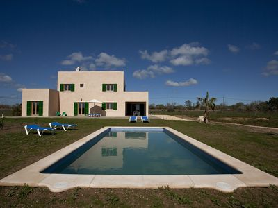 Photo for Newly built luxury finca on the outskirts of Porto Cristo in the south east Mallorca